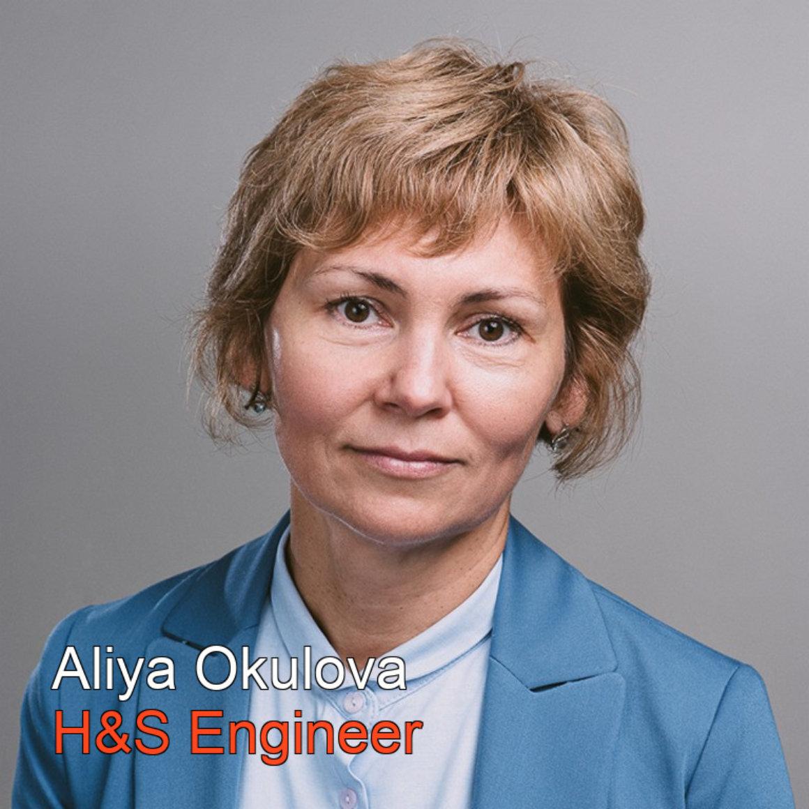 Aliya Okulova HS Engineer BW